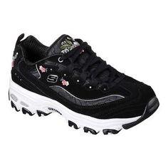 Skechers Women s D Lites Bright Blossoms Sneaker Foams Sneakers 2367a61da95