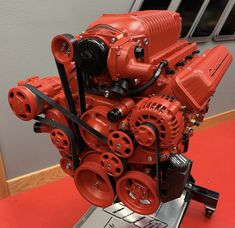 Full engine build and Cerakoted by Donald Hardy.