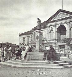 MEMEL/Klaipėda-Le Théâtre et la Ännchen-Puits (PRUSSE) 1929   Antiquitäten & Kunst, Ansichten & Landkarten, Ehemalige deutsche Gebiete   eBay!