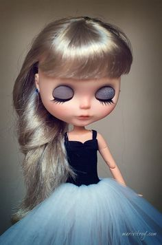 Pearl . Ooak Custom Blythe Doll by Thecollectorblythes on Etsy