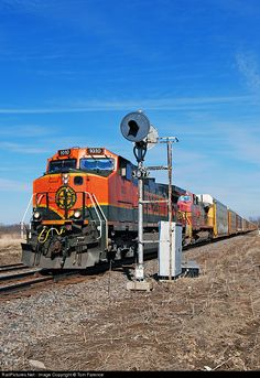 RailPictures.Net Photo: BNSF 1010 Burlington Northern Santa Fe GE C44-9W (Dash 9-44CW) at Briar Bluff, Illinois by Tom Farence