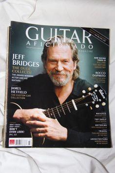 Guitar Aficionado Vol 2 No 1 Jeff Bridges The Dude James Hetfield Metallica Cars | eBay