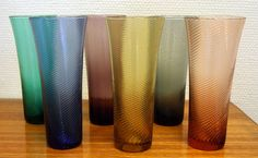 Tutti - Willy Johansson for Hadeland Coloured Glass, Cookware, Norway, Vases, Scandinavian, Glass Art, Mid Century, Bar, Dinner