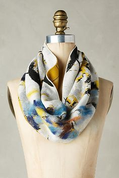 Mixed Print Cowl - anthropologie.com