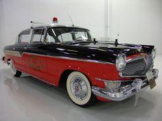 1956 Hudson Hornet police car