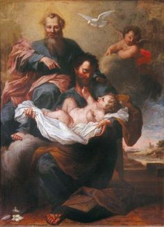 Saint Joseph and the Eternal Father