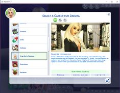 A Drag Queen career with 10 levels and 4 career paths. Start your engines! May the best woman win! Sims 4 Jobs, Sims Cc, Sims 4 Skills, Sims 4 Cheats, Sims 4 Cas Mods, Sims 4 Cc Folder, The Sims 4 Skin, Sims 4 Traits, Pageant Girls