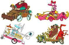 The Wacky Racers cartoon