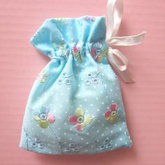 "100 pcs - 4 x 6""  blue cotton eyelet lace gift bags with ribbon - lace  jewellery pouches -  blue lace fa..."