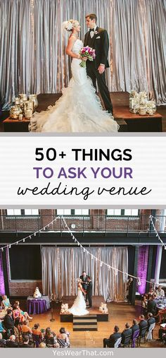 50+ Things You Need to Ask Your Wedding Venue — Yes, Wear That!