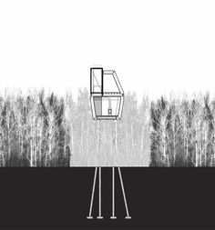 """Bernheimer Architecture examine Baba Yaga through its most important structure — the chicken legs, of course — and consider """"how one might make a structure or an architecture 'chicken-like,' both externally and internally."""""""