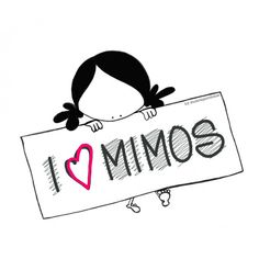 "Lámina ""I love mimos"""