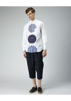 Comme des Garçons Shirt Man / Patches Shirt - with a staggering price of 366 dollars, this is a DIY hack dream!