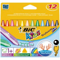 Shop for Bic Kids Plastidecor Triangle Colouring Crayons 12 pack at wilko - where we offer a range of home and leisure goods at great prices. Early Learning, Fun Learning, Bic Kids, School Essentials, Coloured Pencils, Finger Painting, Gel Pens, Craft Items, School Supplies