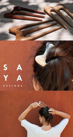 The Barrette hair fork from SAYA Designs