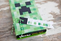 Printable Minecraft Gift Tags and Christmas Gift Idea