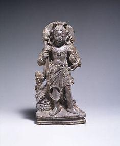 Karttikeya, the God of War Date: 6th–7th century Culture: Pakistan (ancient region of Gandhara) Medium: Stone