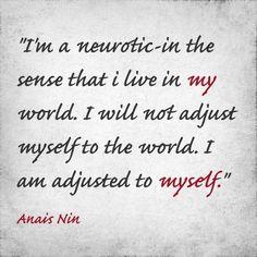 The world of Anais Nin