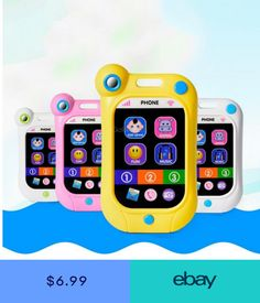 173f71d5e18 Toy Phone Kids Childrens Baby Educational Toy Learning English Game Touch  Screen