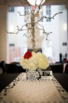#damaskdesign #wiretreecenterpieces #blackandredwedding #daisies #mobilealabama #historymuseum   Mobile, AL. We create original wedding designs based on YOUR needs, style and budget! All production, set up, coordination and clean up included! Have a stress free wedding on a realistic budget! Custom linens, flowers, décor, centerpieces, signs, lighting and much, much more! # 251-510-5606, pieceofcakeeventplanning@yahoo.com, https://www.facebook.com/pieceofcakeeventplanning