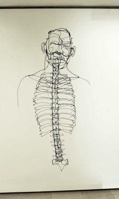 Wire 3D Sculptures by David Oliveira