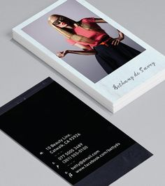 Polaroid: there's something uniquely friendly about a Polaroid that no amount of digital photography can quite replicate. #moocards #businesscard