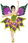"""Inspired By The Art of Ballet, we created """"Butterfly girls Set"""" 10 Designs for ballerinas that look like a butterfly. just visit http://www.embroideryhorizons.com/store/shop/category/butterfly-girls-designs/"""
