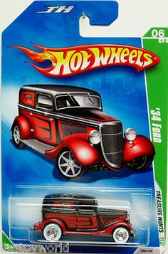 Hot Wheels 2009 Super Treasure Hunt 1934 Ford #6/12 Mint to New Condition