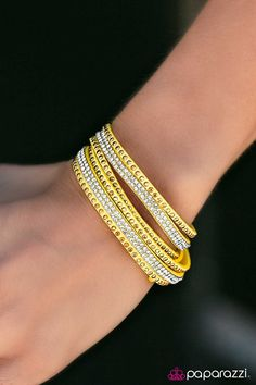 Stop, Drop, and Sparkle Yellow Urban Wrap