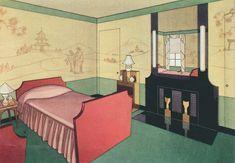 bedroom, hidden door The Peak of Chic®