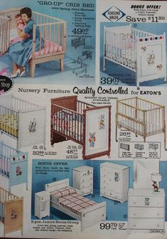 A Little Bit Of Everything: Oh, Baby   Eatonu0027s Catalogue   1961