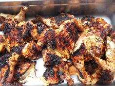 Baked and Grilled Off Chicken
