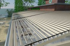 9 Roof Ceiling, Aluminum Uses, Canopy Cover, Roofing Systems, Heating Systems, Open Up, Interior Lighting, Blinds, Outdoor Decor