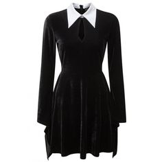 Stella Shadows dress by Killstar (200 PEN) ❤ liked on Polyvore featuring dresses, gothic dresses, killstar dress, killstar, gothic lolita dress and goth dress