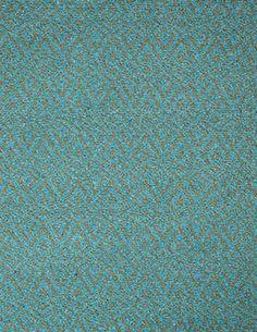 #HookandLoom Oslo Turquoise/Green Eco Cotton Loom-Hooked Rug