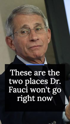 "Dr. Fauci tells Marketwatch that he ""wasn't going to restaurants right now,"" but if you really had to go out, ""indoors is much worse than outdoors. If you're going to go to a restaurant, try as best as you can to have outdoor seating that is properly spaced between the tables."" In spite of this being what technically should be summer vacation, there's one other thing Dr. Fauci isn't doing either — and that's hopping on an airplane. National Institutes Of Health, One And Other, Right Now, Outdoor Seating, How To Stay Healthy, Airplane, Health Tips, Two By Two, Restaurants"
