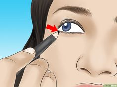How to Tightline Eyes: 10 Steps (with Pictures) - wikiHow Cat Ears, Eyelashes, Eyeliner, Eyes, Makeup, Pictures, Lashes, Make Up, Photos