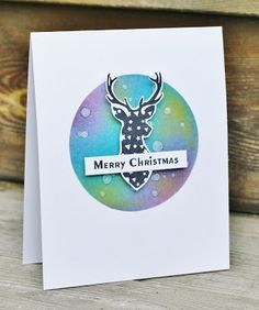 Scrapat helt enkelt: Merry Christmas CAS  Christmas card