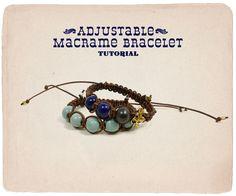 Adjustable Macrame Bracelet | Ornamentea.com's Fine Craft Tutorials & Project Ideas!