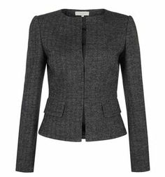 Grey Cheam Jacket | Smart Jackets | Coats and Jackets | Hobbs Mobile