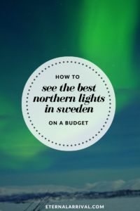 Reasons to Travel to Sweden During Winter I spent approximately $350 USD on 3 amazing days seeing the Northern lights in Abisko, Sweden - including flights to and from Stockholm! Find out how.