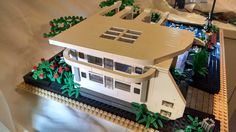 lego modern lego home side view | por Still Skillz