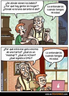 """Subjunctive with adverbial clauses, """"Cuando tengas mi edad lo entenderás."""""""