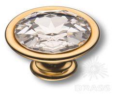 Главный элемент ручки 27.35.19 SWA – кристалл Swarovski. Благодаря сдержанной металлической огранке конструкция не выглядит перегруженной.  http://www.brass.ru/catalog/240/18064/