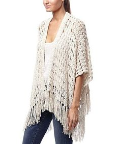 Another great find on #zulily! Hemp Porsha Linen-Blend Open Cardigan #zulilyfinds
