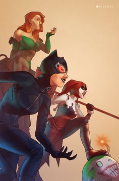 Gotham City Sirens by Pryce14.deviantart.com on @deviantART