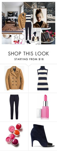 """""""Basic"""" by cybelfee ❤ liked on Polyvore featuring J.Crew, Ganni, STELLA McCARTNEY, Clinique, Acne Studios, Michael Kors, women's clothing, women, female and woman"""