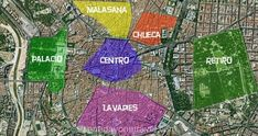Les quartiers touristiques à Madrid | Blog voyage
