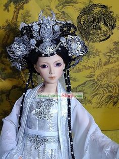 Image detail for -Chinese Stunning Empress Clothing and Hair Decoration Full Set