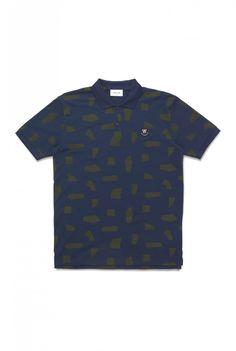 Wood Wood - Brian polo Polo Shirt, T Shirt, Wood Wood, Mens Tops, Fashion, Polos, Tee, Moda, La Mode